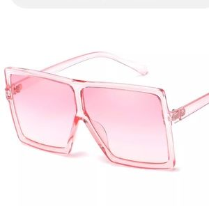Pink barbie rave sunglasses festival club dance